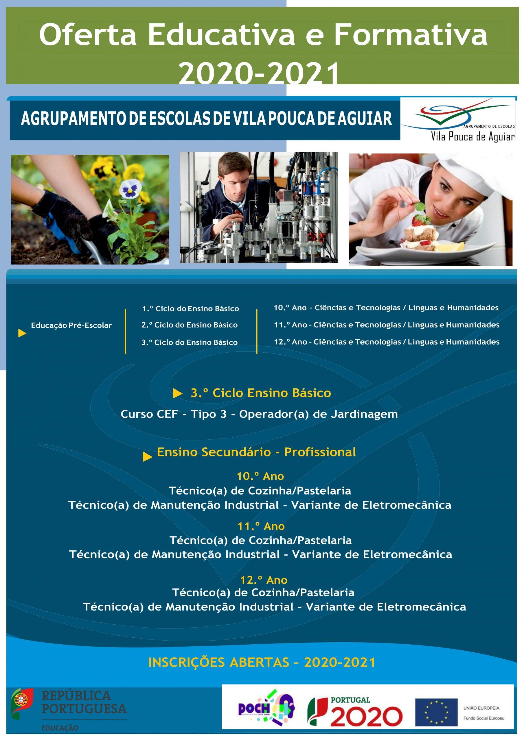 Oferta Educativa e Formativa 2020/2021